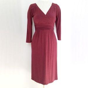 Maeve Galena Faux Wrap Dress